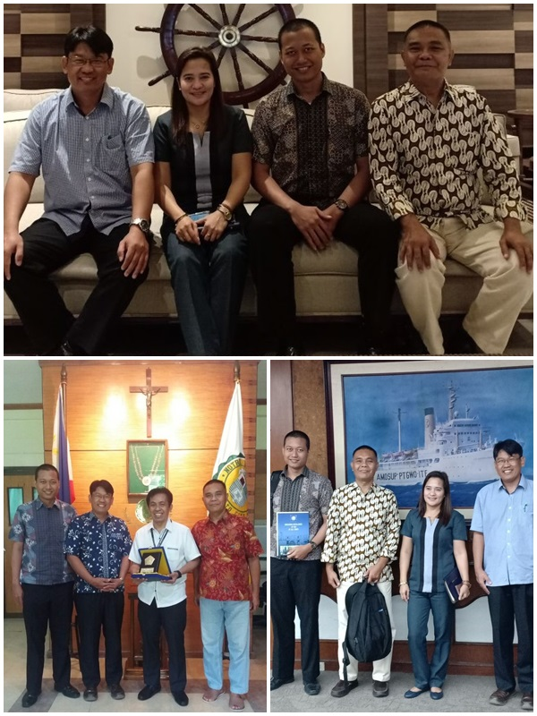 Kunjungan ke Maritime Academy of Asia and the Pacific dan Notre Dame University