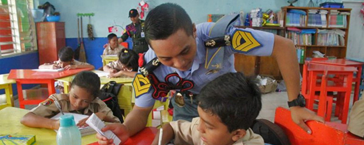 AMN Gelar Maritime Goes To School