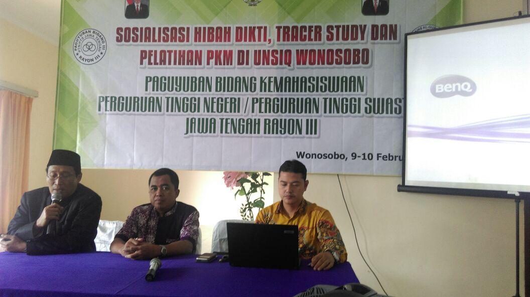 AMN Ikuti Sosialisasi Hibah Dikti, Tracer Study, dan Pelatihan PKM